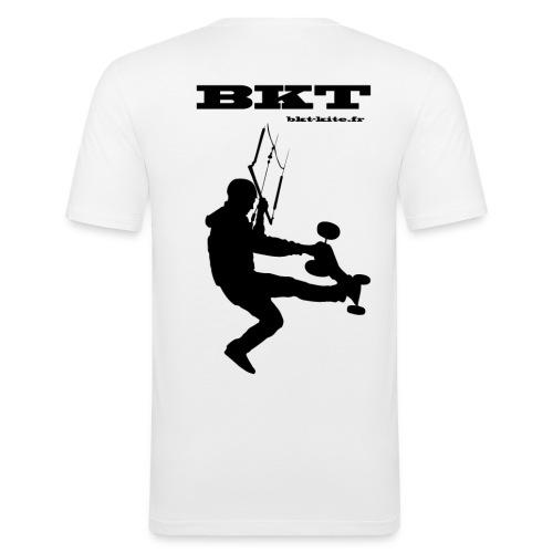 logo dos - T-shirt près du corps Homme