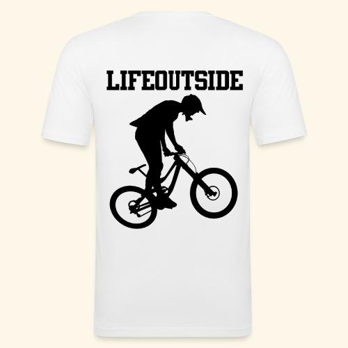 Mountainbike - Männer Slim Fit T-Shirt