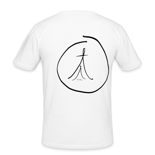 By Hand FC OM - Men's Slim Fit T-Shirt