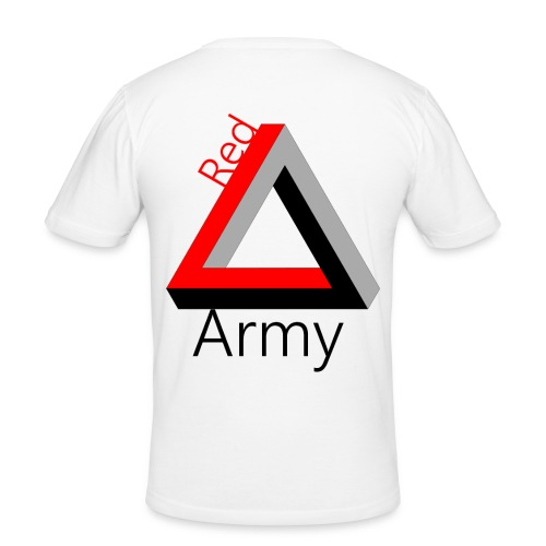Red Army - Männer Slim Fit T-Shirt