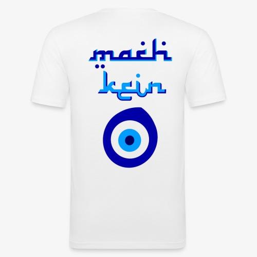 Mach kein Auge - Männer Slim Fit T-Shirt