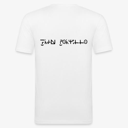 Fran Portillo (runas Alrlok) - Camiseta ajustada hombre