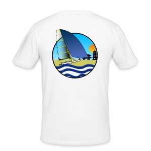49er sailing Tokio BIG - Männer Slim Fit T-Shirt