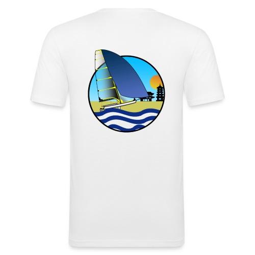 49er sailing Tokio BIG - Männer Slim Fit T-Shirt