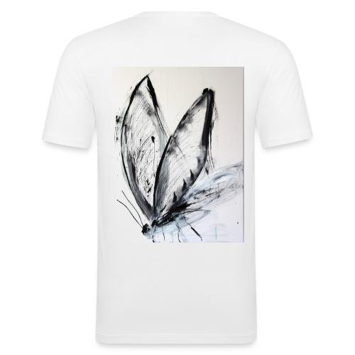 butterfly - Männer Slim Fit T-Shirt
