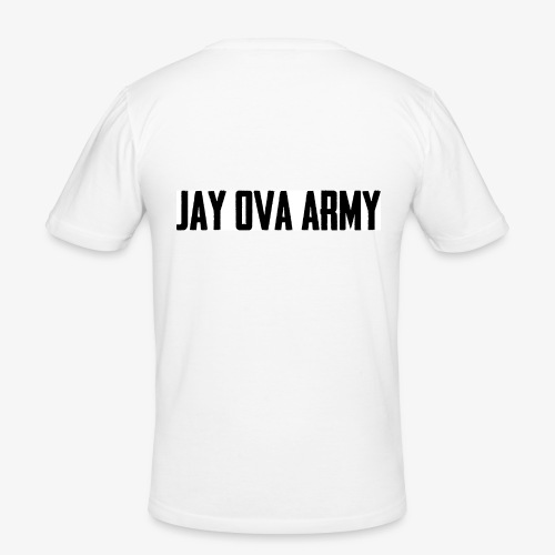 Jay Ova Army Logo - Männer Slim Fit T-Shirt