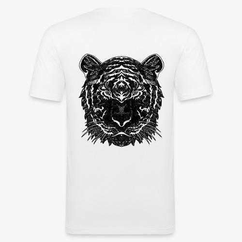 Teega - Männer Slim Fit T-Shirt