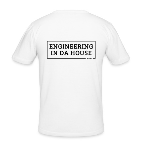 Engineering in da house! - Männer Slim Fit T-Shirt