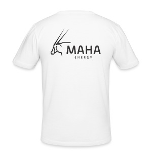 Maha_Logo - Herre Slim Fit T-Shirt