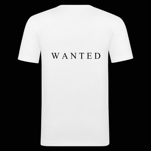 Wanted ecrit - T-shirt près du corps Homme