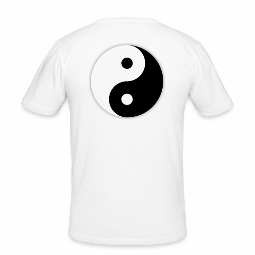 Yin Yang - T-shirt près du corps Homme