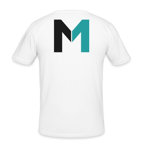 Logo M - Männer Slim Fit T-Shirt