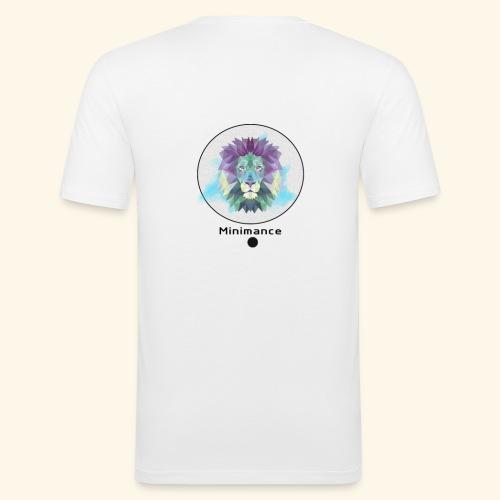 GEOMETRIC LION - T-shirt près du corps Homme