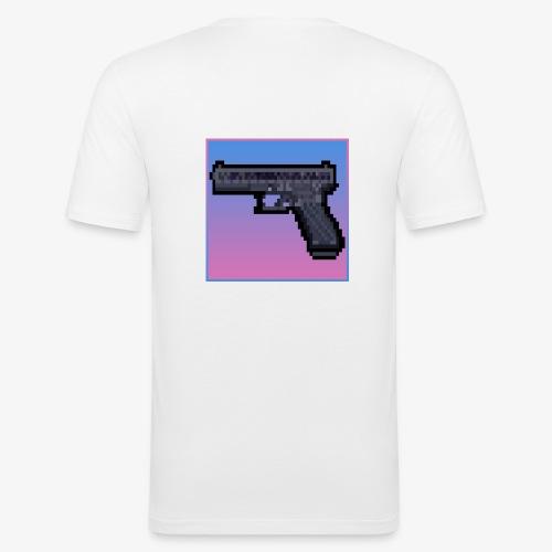 Vice City Glock - T-shirt près du corps Homme