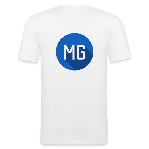 MG Clan Logo - Männer Slim Fit T-Shirt