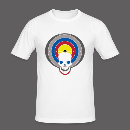 Logo Target - Men's Slim Fit T-Shirt