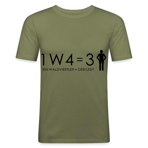 1W4 3L - Männer Slim Fit T-Shirt