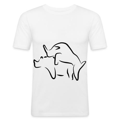 Tiere - Männer Slim Fit T-Shirt