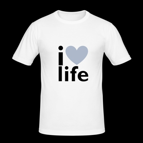 iLOVE clothing range - Men's Slim Fit T-Shirt