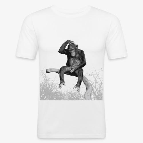 Monkey Music - Men's Slim Fit T-Shirt