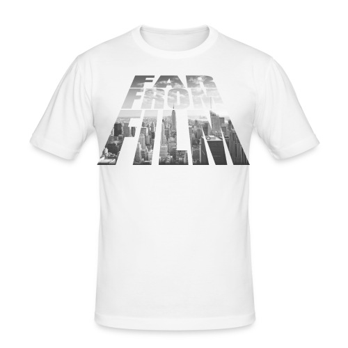 Far from Film NYC - Men's Slim Fit T-Shirt