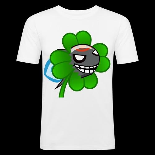 torpedo kleeblatt - Männer Slim Fit T-Shirt