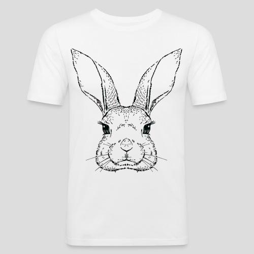 Lapin - T-shirt près du corps Homme