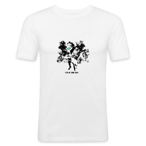 june 2014 - Männer Slim Fit T-Shirt