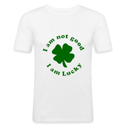 not good lucky - T-shirt près du corps Homme