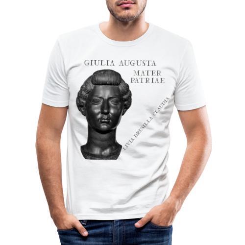 Livia Drusilla Claudia Giulia Augusta - Maglietta aderente da uomo