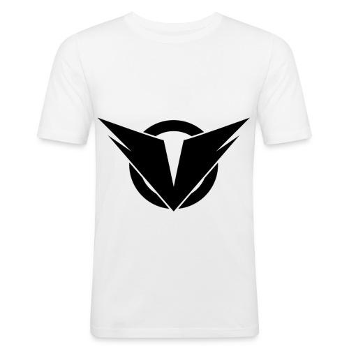 Vintry Logo on back - Männer Slim Fit T-Shirt