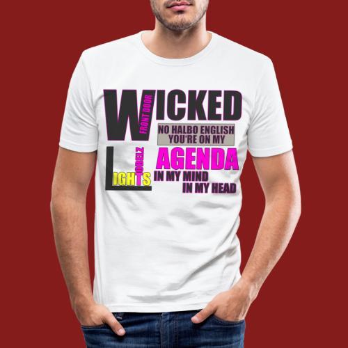 Tobelz Agenda - Männer Slim Fit T-Shirt