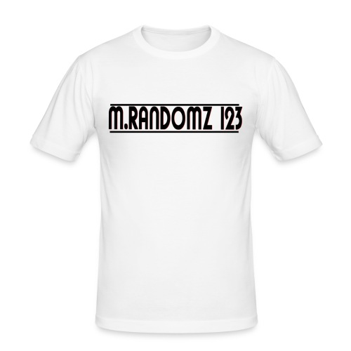 m.randomz 123 - Men's Slim Fit T-Shirt