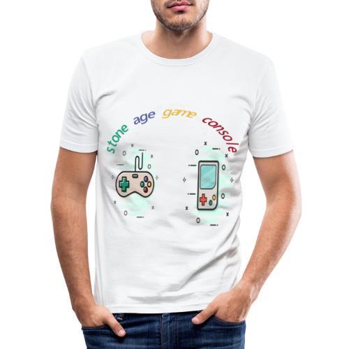 Retro Gaming Tribute - Männer Slim Fit T-Shirt