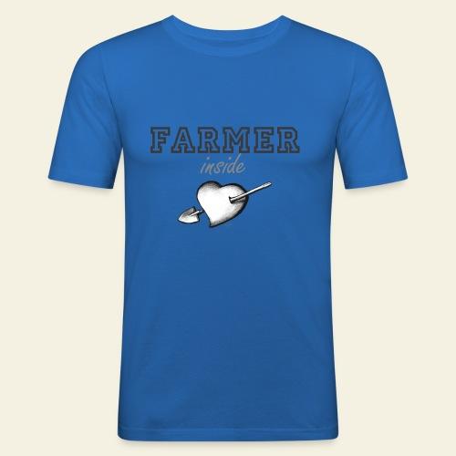 Hearth farmer - Maglietta aderente da uomo