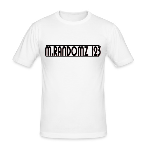 m.randomz 123 - Men's Slim Fit T-Shirt
