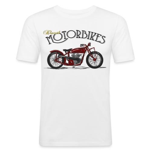 Indian Red Kontur png - Männer Slim Fit T-Shirt
