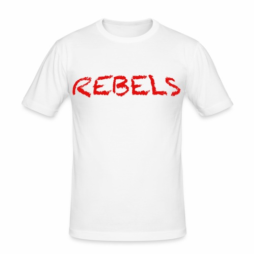 Rebels - Mannen slim fit T-shirt