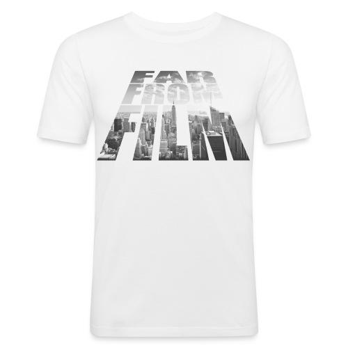 Far from Film NYC - Men's Slim Fit T-Shirt