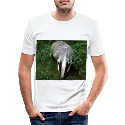 lillerik01 - Slim Fit T-shirt herr