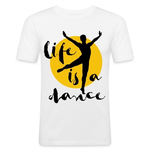 Ballett Tänzer - Männer Slim Fit T-Shirt