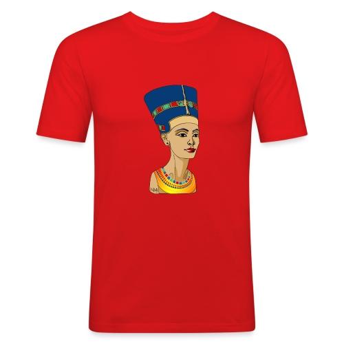 Nofretete - Die Schöne, die da kommt - Männer Slim Fit T-Shirt
