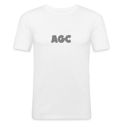 AGC LOGO Grey Merchandise - Männer Slim Fit T-Shirt