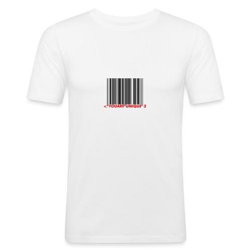 Codebar : You are unique - T-shirt près du corps Homme