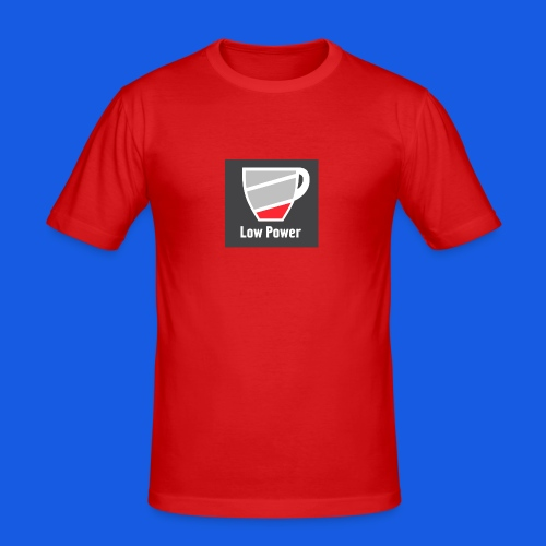 Low power need refill - Herre Slim Fit T-Shirt