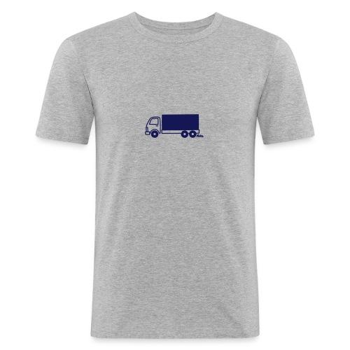 LKW lang - Männer Slim Fit T-Shirt