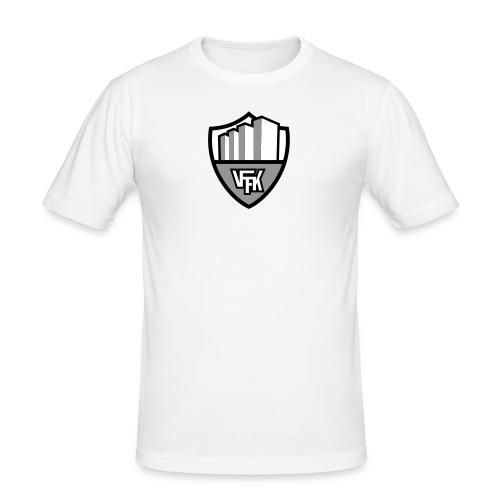 vffk logo 3 color - Slim Fit T-shirt herr