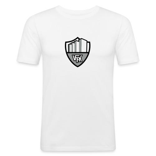 vffk logo 3 color - Slim Fit T-shirt herr
