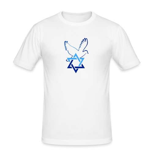 Shalom I - Männer Slim Fit T-Shirt