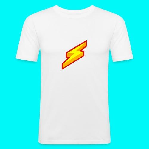 Lightning Shirt - Mannen slim fit T-shirt